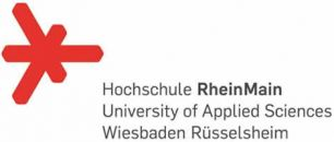 Hochschule RheinMain University of Applied Sciences Wiesbaden Rüsselsheim